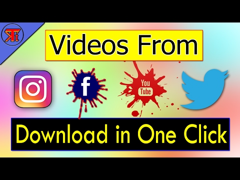How to Download Videos From Instagram, Facebook, Twitter, Youtube, Vimeo, Vine, Dailymotion, Vivo