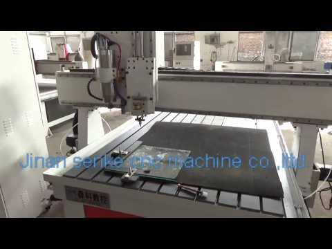 double use wood stone metal glass engrving cutting milling drilling cnc router machine
