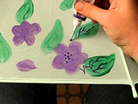 A lesson of Umbrella Decorating