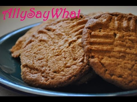 Quick and Easy Chewy Peanut Butter Cookies!!