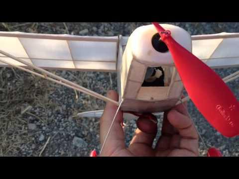 Stick & Tissue Electric Free Flight Piper Super Cub