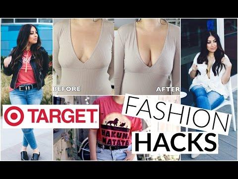 TARGET FASHION HACKS & TIPS: Boob enhancer, clothes, saving money