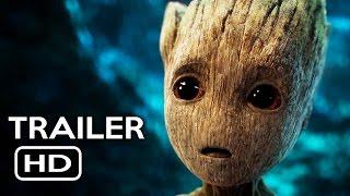 Guardians of the Galaxy Vol. 2 Official Trailer #2 (2017) Chris Pratt Sci-Fi Action Movie HD