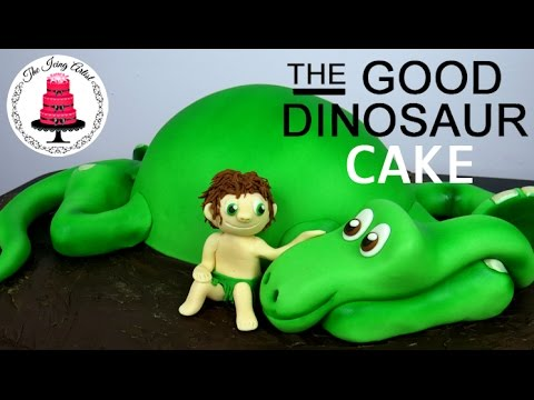 How To Make A GOOD DINOSAUR CAKE! The Easy Way!