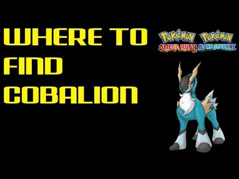 Where to find Cobalion | Pokemon Omega Ruby/Alpha Sapphire | Pokemon ORAS