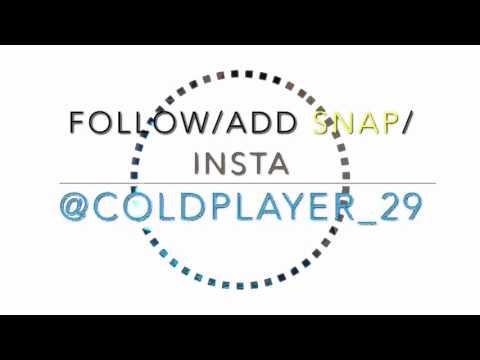 Follow me on my social media
