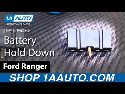 How to Install Replace Battery Hold Down 1989-08 Ford Ranger BUY QUALITY AUTO PARTS AT 1AAUTO.COM