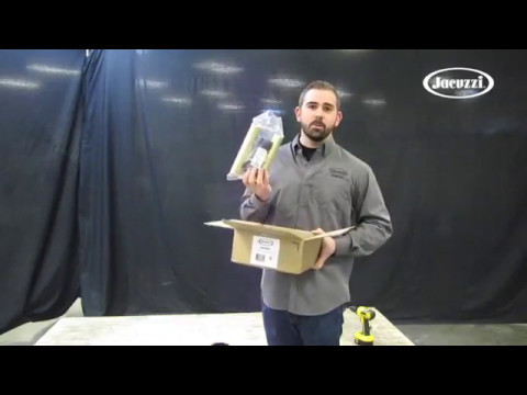 How to Install a Freestanding Tub with the Jacuzzi® MZ20000 Drain Alignment Kit