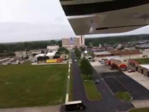 E-Flite Apprentice S 15e Rainy Day Flight