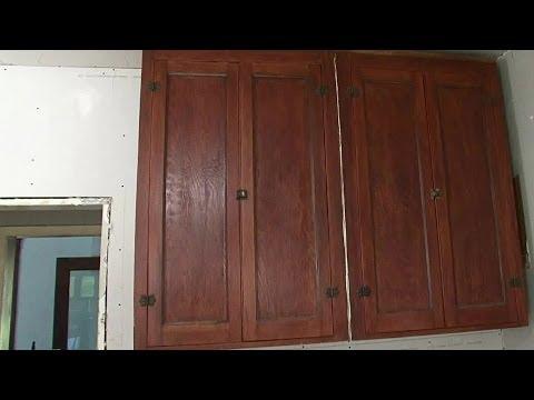 Using Vintage Kitchen Cabinets