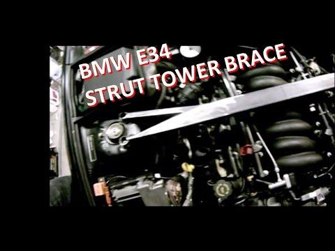 Custom Strut Tower Brace BMW E34