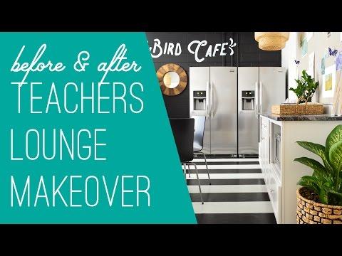 A Teachers Lounge Makeover