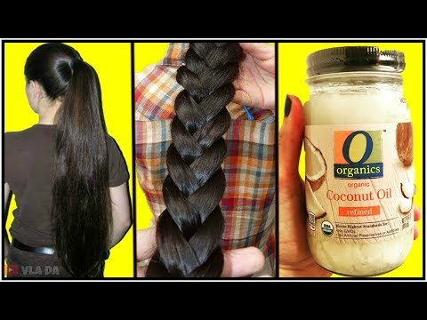 How To Grow Super Long & Thicken Hair In 2 Weeks - How To Stop Hair Fall & Regrow Hair Naturally