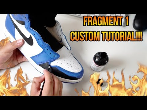 HOW TO MAKE THE AIR JORDAN 'FRAGMENT' 1 IN LESS THAN 3 HOURS!!! (SUPER EASY)