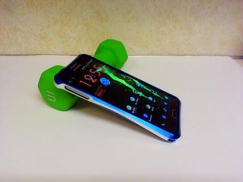 Samsung Galaxy Note 3 Love Mei Metal Bumper Case Installation