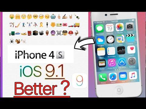 iOS 9.1 iPhone 4s Better ?