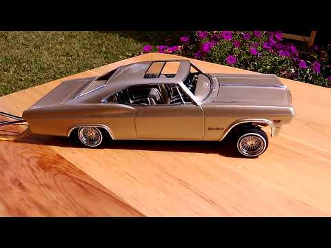 Lowrider Model Car 1965 Impala SS a-arm hopper 3 servo & hop motor