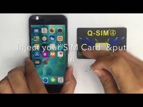 Turbo SIM Q-SIM4 Manual Install Instruction iOS TMSI