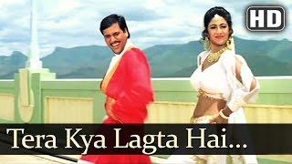 Tera Kya Lagta Hai (HD) -  Aag (1994) - Govinda - Shilpa Shetty - Suhas Joshi