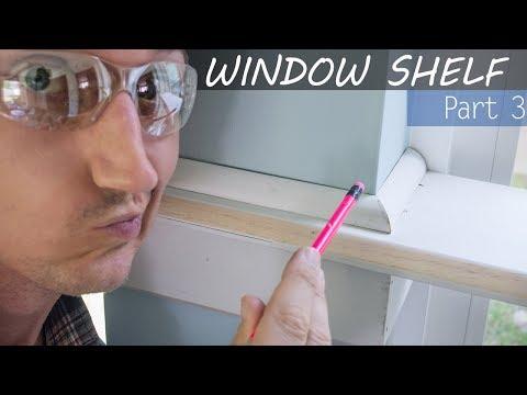 Perfect Trim Corners, Window Shelf Build Part 3