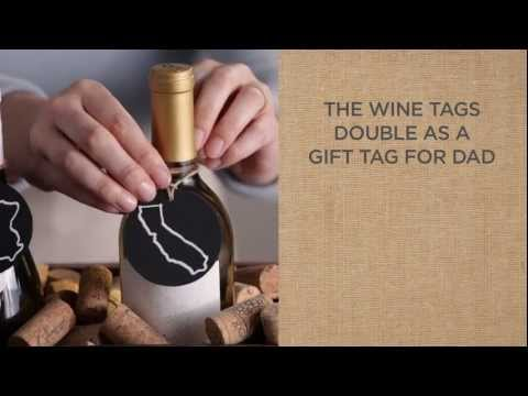 Create a Wine Gift Basket for Dad this Father's Day   Pottery Barn