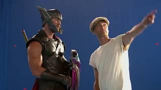 Thor Ragnarok bloopers
