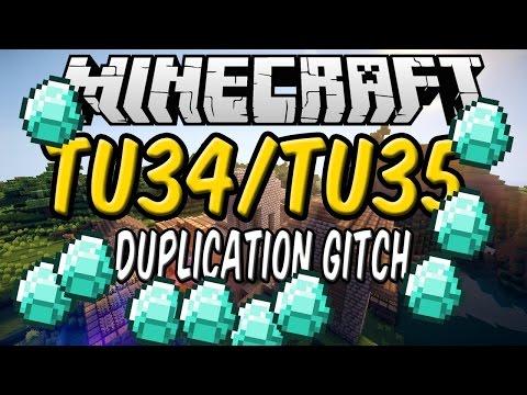 Minecraft PS4 PS3 XBOX ONE XBOX 360 WII U New Tu34 Tu35 Duplication Glitch!