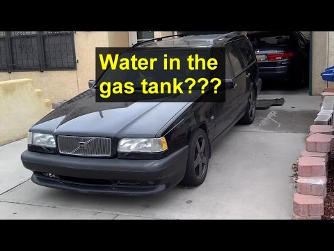Is water in my gas / fuel tank? This video explains and shows you what happens. - VOTD