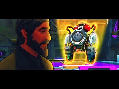 How John Wick Died and Made The Jetpack - A FORTNITE SHORT FILM