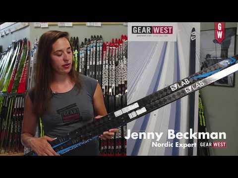 Salomon Carbon S Lab Skate Ski with Gear West