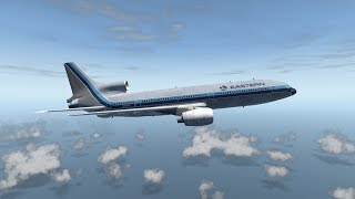 Total Engine Failure - Eastern Air Lines Flight 855 - XP11