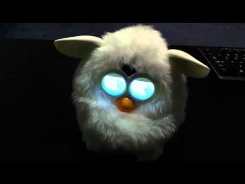 Furby wakes up!