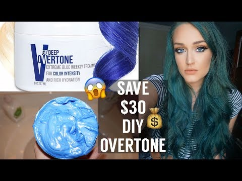 DIY OVERTONE CONDITIONER || HOW TO MAINTAIN COLOR HAIR FOR CHEAP