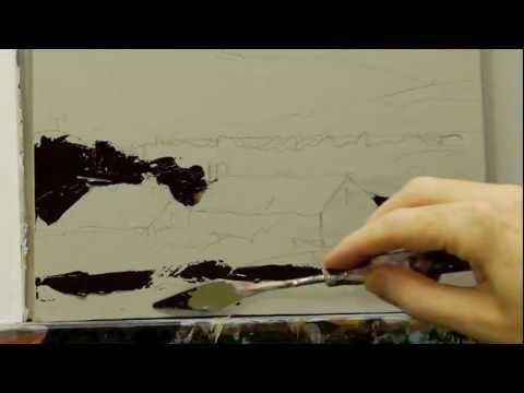 Acrylic Palette Knife Techniques - Lesson 1 of 4