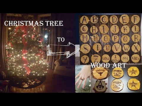 Recycle Your Christmas Tree! (Wooden Coasters, Rings, and More!)