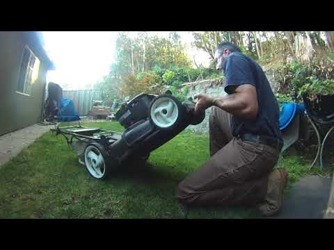 Garbage Picked Mower is Ranch Ready