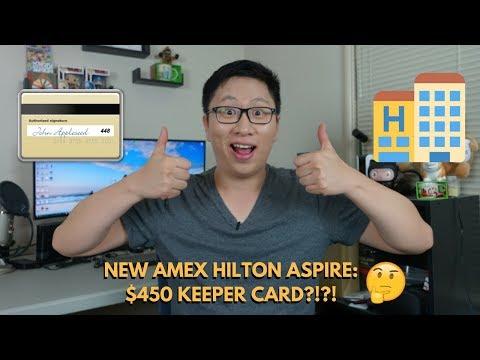 NEW Amex Hilton Aspire + Ascend: $450 Keeper Card?! (First Impressions)