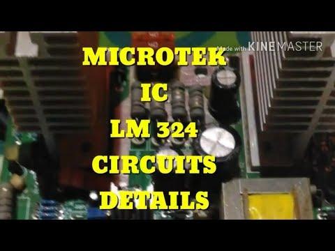 Microtek IC 324 circuit details