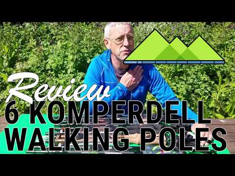 Best Walking Pole 2018 - Komperdell Top 6 Comparison