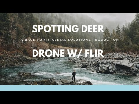 Whitetail Deer Counts with FLIR XT Camera mounted on DJI Drone