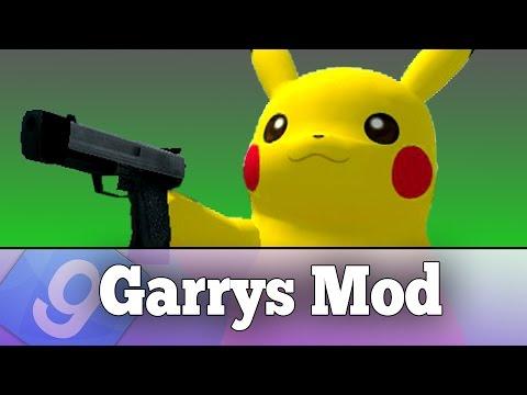 PLAY AS PIKACHU IN GARRY'S MOD!