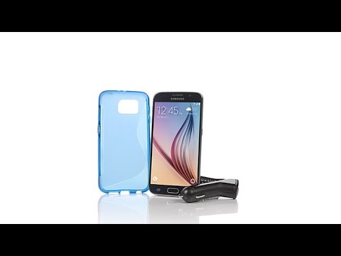 Samsung Galaxy S6 Android TracFone Bundle
