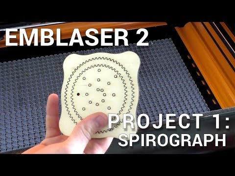 Emblaser 2 // Project 1: Spirograph