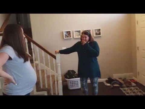 Best Surprise Pregnancy Announcement Reveals Compilation 2017 #5