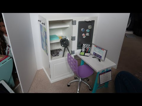 *Review* American Girl Doll Z's Desk Set!