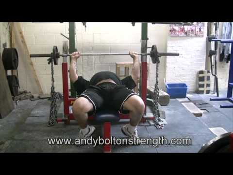 Andy Bolton: How To Bench Press With Chains