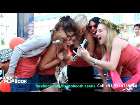 Magic Mirror photo booth by Photo-Booth.in Kerala India