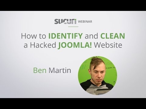 Sucuri Webinar: How to Identify and Clean a Hacked Joomla Website