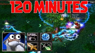 DOTA SNIPER 120 MINUTES GAME (2 HOURS LONGEST GAME EVER)