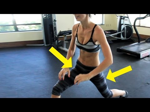 Tighten Up Your Hips and Thighs - 5 Exercises for Women